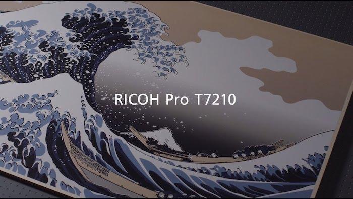 Beepag Sceglie Ricoh Pro T7210